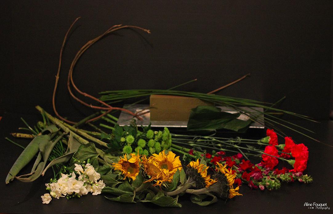 tuto pour la r alisation d 39 une composition florale inspirations florales. Black Bedroom Furniture Sets. Home Design Ideas