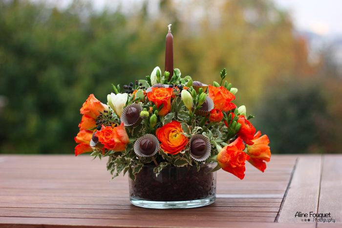 Bouquet rond gourmand